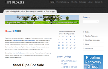 Pipe Brokers - Pipeline Recovery Group