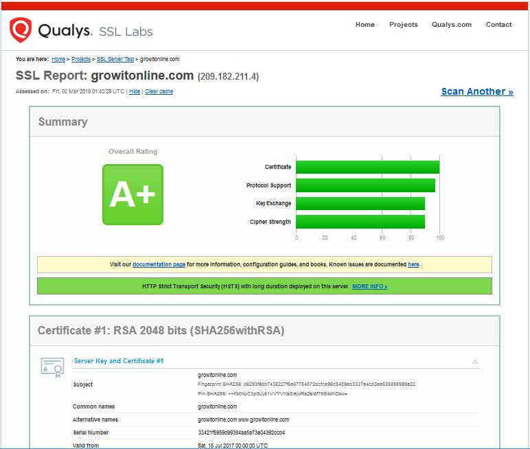 qualys ssl labs growitonline test report aplus Feb2018.png